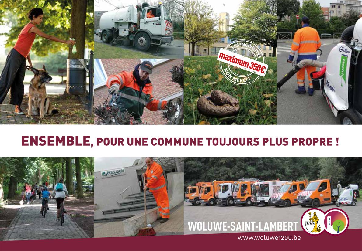 Propreté publique « Woluwe-Saint-Lambert Woluwe-Saint-Lambert