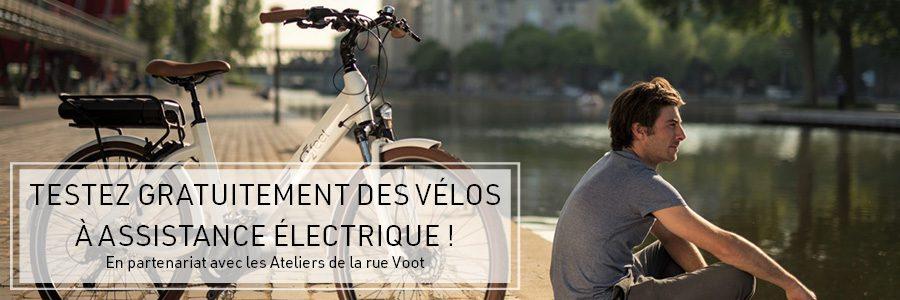Woluwe 1200 : Testez vélos à assistance électrique